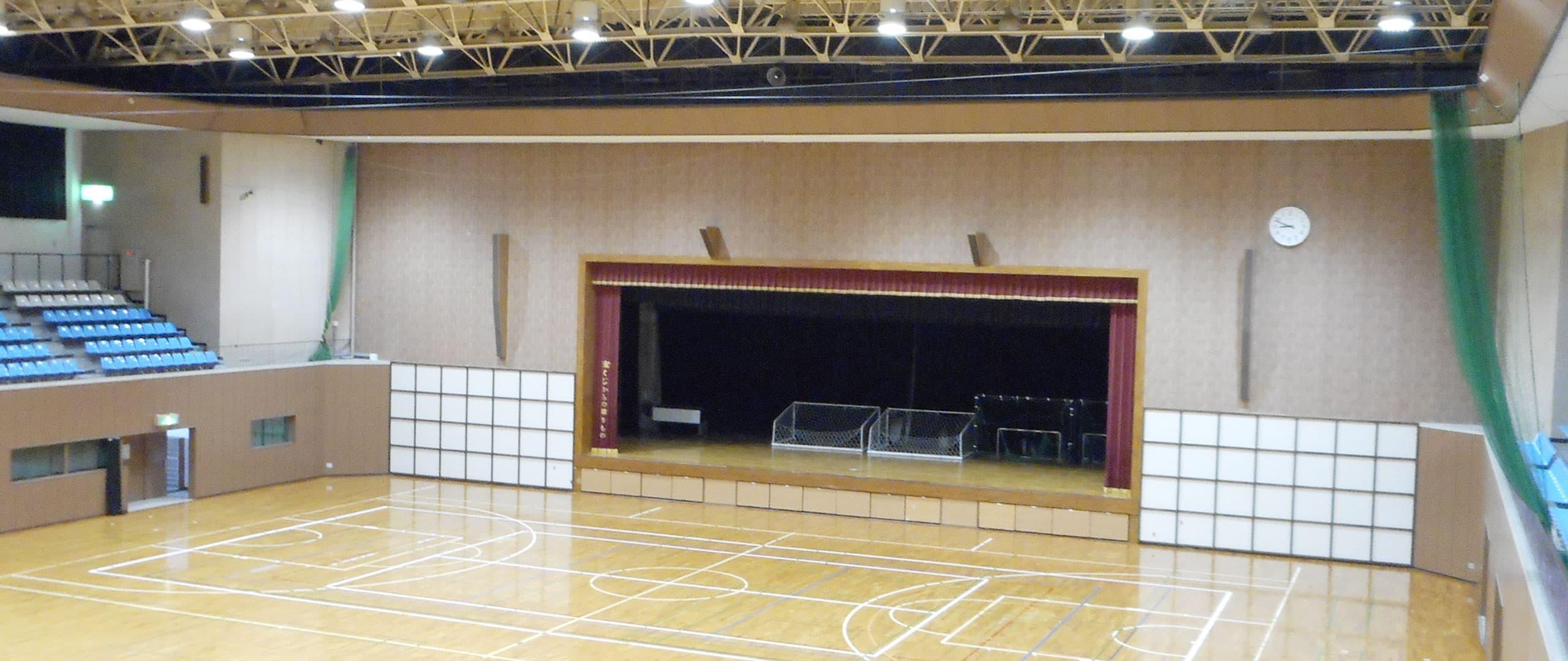柳井市体育館 トップ画像